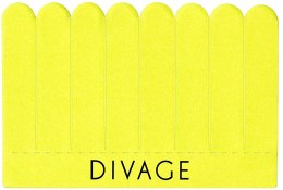 Kup Zestaw pilników do paznokci 8 w 1, żółte - Divage Dolly Collection