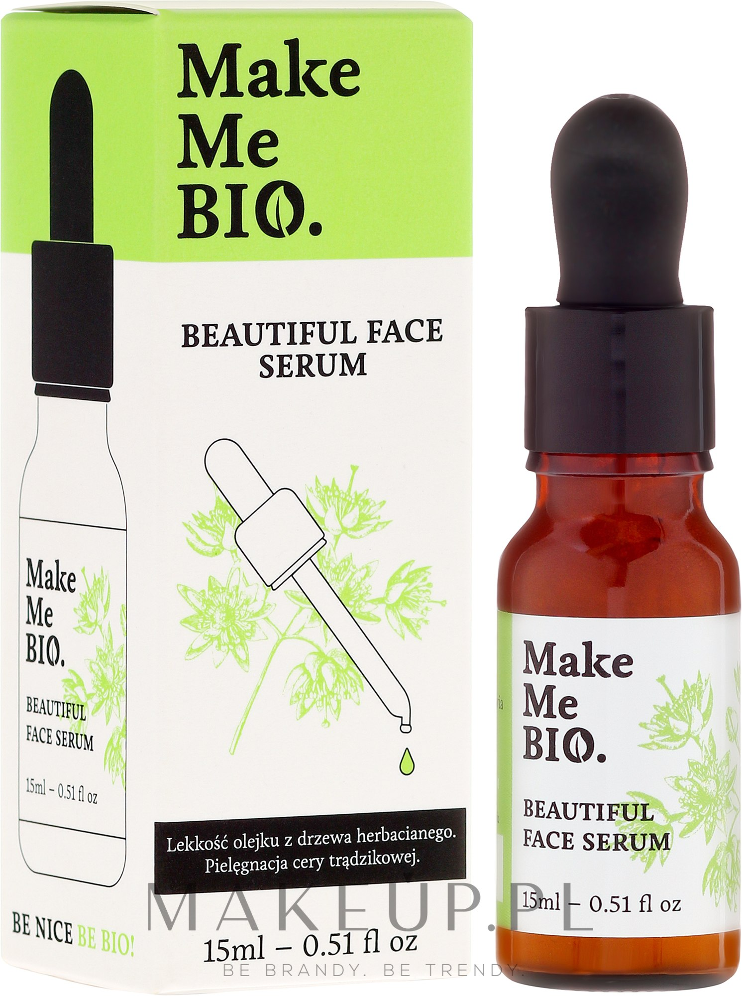 Serum do cery trądzikowej - Make Me Bio Beautiful Face — фото 15 ml