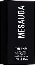 Kup Nawilżający podkład do twarzy - Mesauda Milano The Skin Luminous Finish Hydrating Foundation