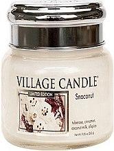Kup Świeca zapachowa w szkle - Village Candle Snoconut