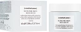 Kup Odżywczy krem ujędrniający do twarzy - Comfort Zone Sublime Skin Rich Cream