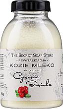 Kup PRZECENA! Kozie mleko do kąpieli Czerwona Borówka - The Secret Soap Store Red Blueberry Goat Milk *