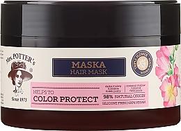 Kup Ochronna maska do włosów farbowanych Potrójna moc kwiatów - Mrs. Potter's Helps To Color Protect
