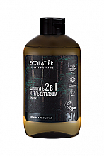 Kup Męski żel pod prysznic i szampon 2 w 1 Cyprys i zielona herbata - Ecolatier Urban Energy