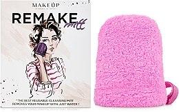 Kup Różowa rękawiczka do demakijażu ReMake (15 x 12 cm) - Makeup