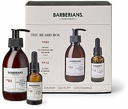Kup Zestaw do pielęgnacji brody - Barberians. The Beard Box (b/shm 200 ml + b/oil 30 ml)