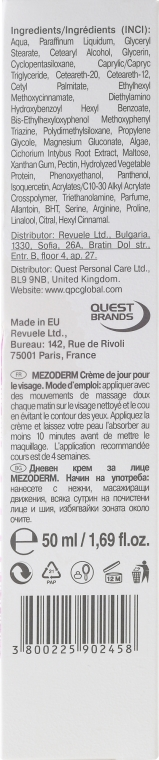Rewitalizujący krem do twarzy na dzień SPF 15 - Revuele Mezo Derm Revitalizing Day Cream — фото N3