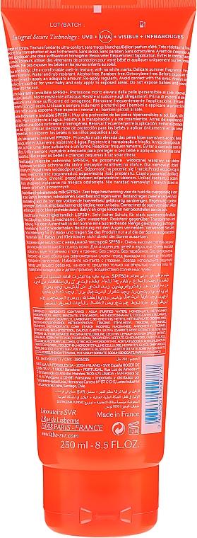 Nawilżające mleczko ochronne SPF 50+ do twarzy i ciała - SVR Sun Secure Lait — фото N5