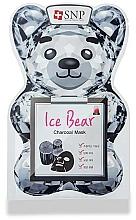 Kup Maseczka w płachcie do twarzy z węglem aktywnym - SNP Ice Bear Charcoal Mask