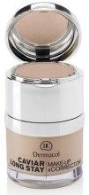 Kup Trwały podkład z korektorem do twarzy - Dermacol Caviar Long Stay Make-Up & Corrector