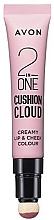 Kup Róż w kremie do ust i policzków - Avon Liquid Lip Cushion