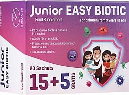 Kup Suplement diety w saszetkach dla dzieci - Noble Health Junior Easy Biotic