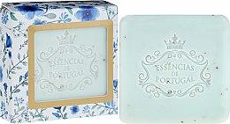 Kup Mydło peelingujące w kostce Fiołek i pestki moreli - Essencias de Portugal Violet And Apricot Kernel Scrub Aromatic Soap