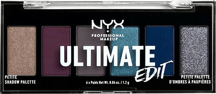 Paletka cieni do powiek - NYX Professional Makeup Ultimate Edit Petite Shadow Palette — фото N7