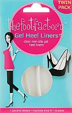 Kup Wkładki żelowe do butów - The Foot Factory Gel Heel Liner Twin Pack