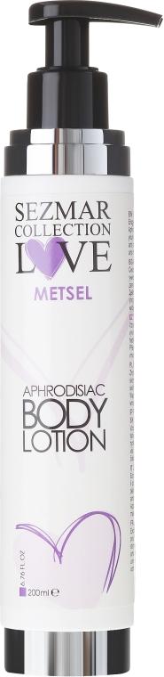 Afrodyzjakowy balsam do ciała - Sezmar Collection Love Metsel Aphrodisiac Body Lotion — фото N1