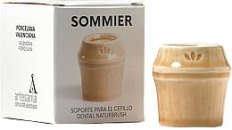 Kup Uchwyt na szczoteczkę do zębów, beżowy - NaturBrush Sommier Toothbrush Holder