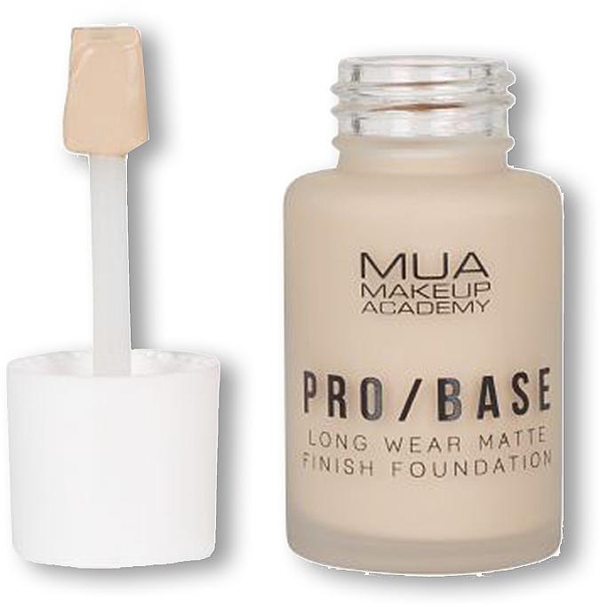 Matujący podkład i baza do twarzy - MUA Pro Base Long Wear Matte Finish Foundation