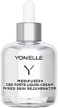 Kup Płynny krem z CBD odmładzający wygląd do cery mieszanej - Yonelle Medifusion CBD Forte Liquid-Cream Mixed Skin Rejuvenator