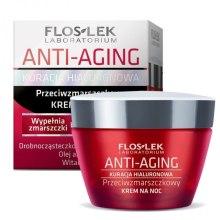 Kup Krem do twarzy na noc - Floslek Anti-Aging Kuracja Hialuronowa Night Cream