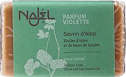 Kup Mydło aleppo Fiołek - Najel Aleppo Soap Organic Violet Soothing