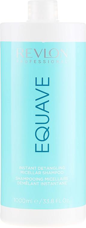 Nawilżający szampon micelarny ułatwiający rozczesywanie włosów - Revlon Professional Equave Instant Detangeling Micellar Shampoo