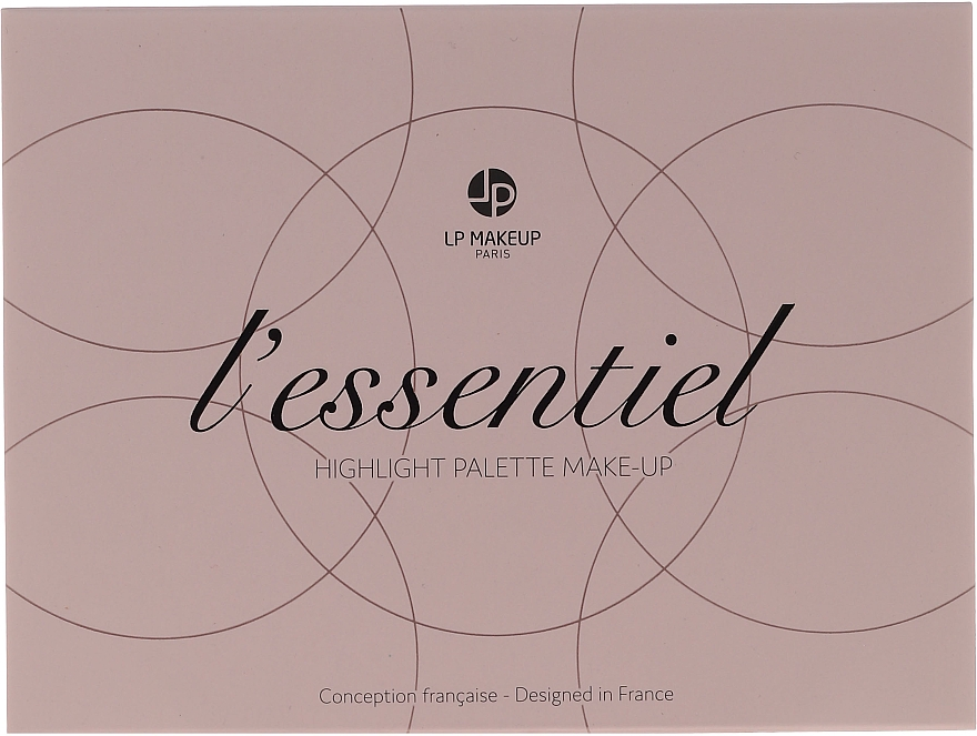 Paletka rozświetlaczy - LP Makeup L'Essentiel Paper Highlight Palette — фото N4