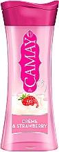 Kup Perfumowany żel pod prysznic dla skóry wrażliwej - Camay Creme and Strawberry