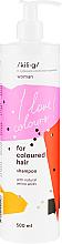 Kup PRZECENA! Szampon do włosów farbowanych - Kili·g Woman Shampoo For Coloured Hair *