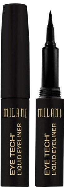 Eyeliner w płynie z precyzyjną końcówką - Milani Eye Tech Liquid Eye Liner — фото N1