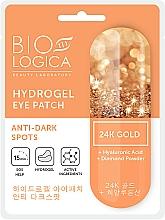 Kup Rozjaśniające płatki pod oczy ze złotem - Biologica Gold