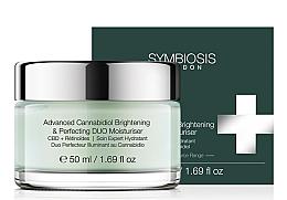 Kup Rozjaśniający krem nawilżający do twarzy CBD i retinoidy - Symbiosis London Advanced Cannabidiol Brightening & Perfecting DUO Moisturiser