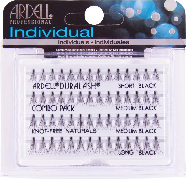 Kępki rzęs bez węzełków - Ardell Individual Combo Pack