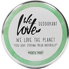 Kup Naturalny dezodorant w kremie, Mięta - We Love The Planet Mighty Mint Cream Deodorant