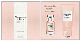 Kup Abercrombie & Fitch Authentic - Zestaw (edp 50 ml + b/lot 200 ml)
