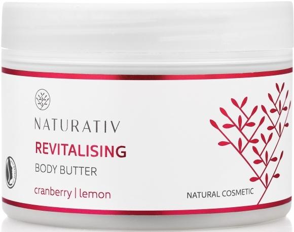 Rewitalizujące masło do ciała Żurawina i cytryna - Naturativ Revitalising Body Butter — фото N1