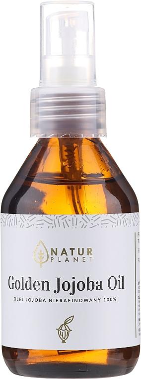 100% organiczny olej jojoba Golden - Natur Planet Jojoba Organic Oil 100%