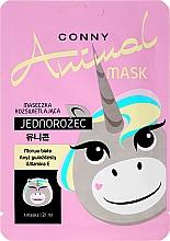 Kup Rozświetlająca maseczka na tkaninie do twarzy Jednorożec - Conny Animal Essence Mask