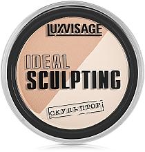 Puder brązujący do twarzy - Luxvisage Ideal Sculpting — фото N1