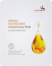Kup Maska na tkaninie do twarzy Świeże mandarynki - Aroma Yong Aromatherapy Mask Fresh Mandarin