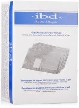 Kup Folie do usuwania żelowych paznokci - IBD Just Gel Remover Foil Wraps