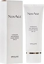 Kup Intensywny przeciwstarzeniowy krem do rąk SPF 25 - Oriflame NovAge Intensive Age Defence Hand Cream