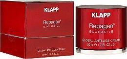 Kup Kompleksowy krem anti-age do twarzy - Klapp Repagen Exclusive Global Anti-Age Cream