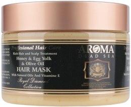 Kup Maska z miodem i oliwą z oliwek dla wzmocnienia włosów - Aroma Hair Mask
