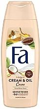 Kup Kremowy żel pod prysznic Masło kakaowe i olej kokosowy - Fa Cacao Butter And Coco Oil