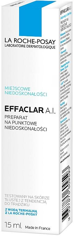 Korektor w kremie do walki z niedoskonałościami - La Roche-Posay Effaclar A.I. Targeted Imperfection Corrector — фото N2