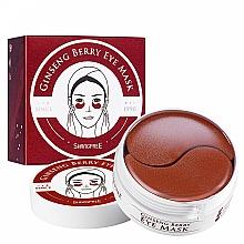 Kup Żelowe płatki pod oczy z żeń-szeniem - Shangpree Ginseng Berry Eye Mask