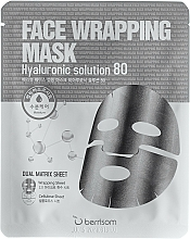 Kup Maska do twarzy w płachcie z kwasem hialuronowym - Berrisom Face Wrapping Mask Hyaluronic Solution