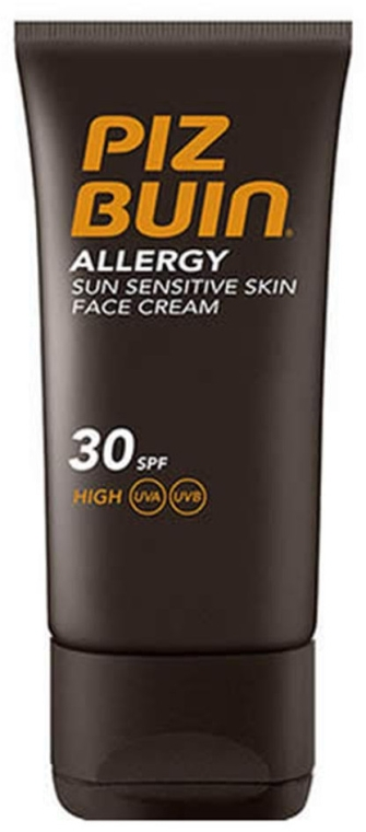 Krem do opalania twarzy SPF 30 - Piz Buin Allergy Face Cream — фото N2