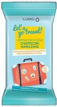 Kup Hipoalergiczne chusteczki nawilżane Owoce tropikalne - Luba Let's Go Travel Wipes